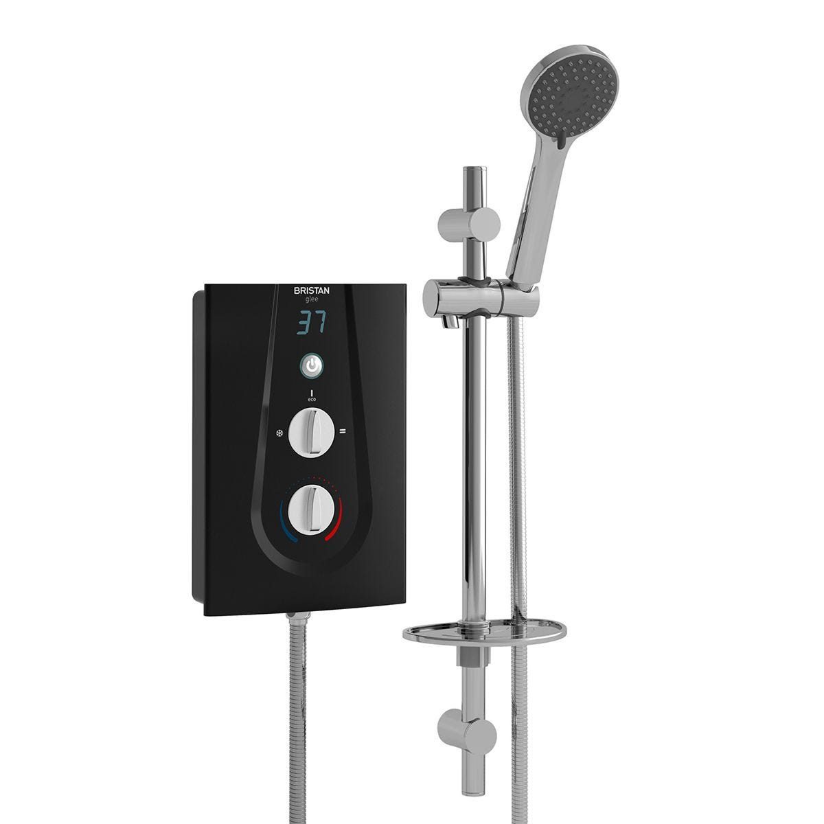 Bristan Glee Electric Shower 10.5kw Black