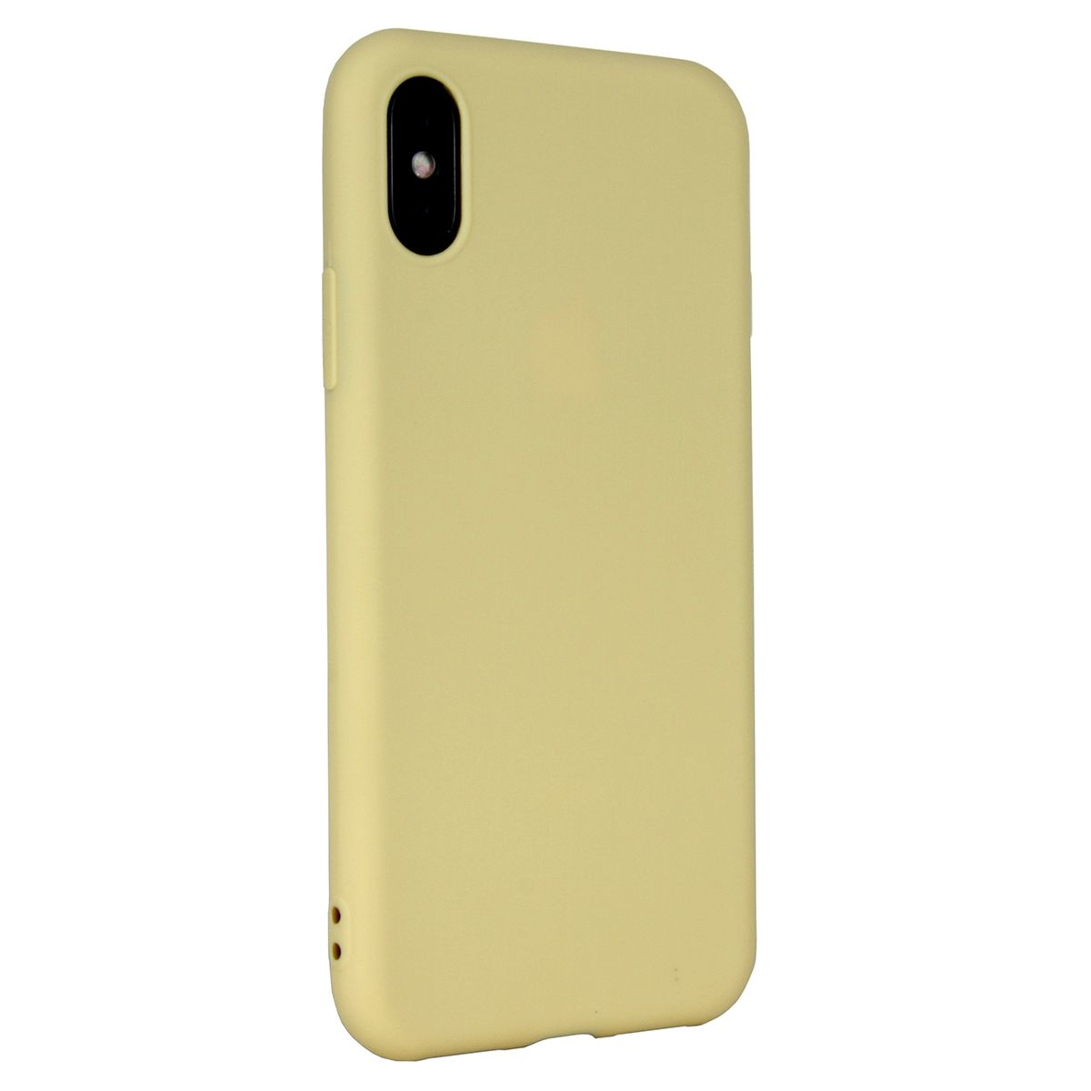 Case Flexi Yellow for iPhone X