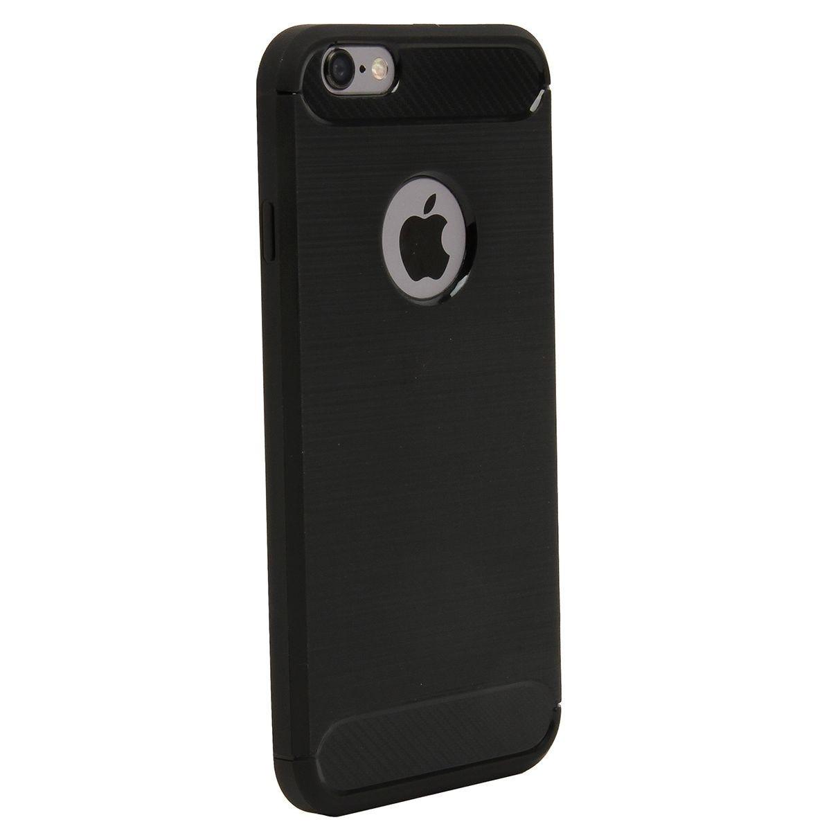 Case Brushed Carbon Black for iPhone 6