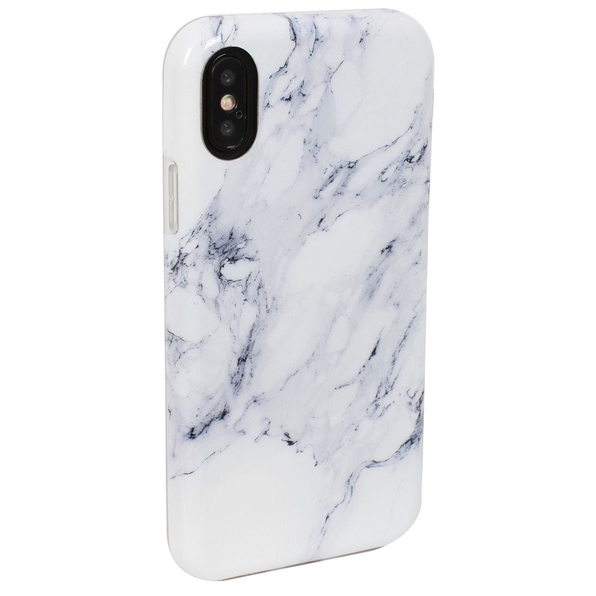 Case Luxe White Shadow Marble for iPhone X