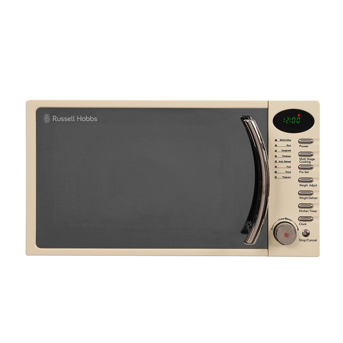 Russell Hobbs RHM1714CC Legacy 700W Digital 17L Solo Microwave - Cream