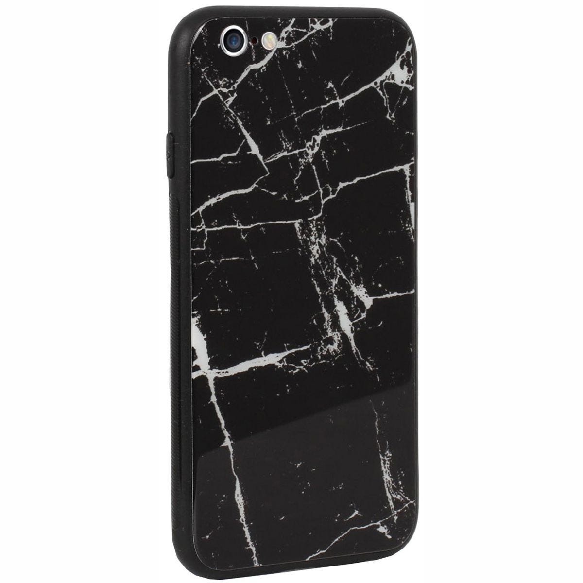 Case Luxe Black White Marble for iPhone 6
