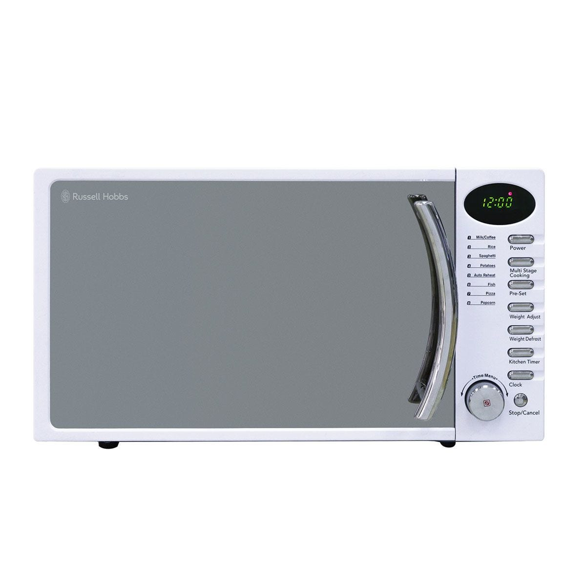 Auto Cook Functions Haden Touch Control Microwave Reheat White 25 Litre Defrost 900W