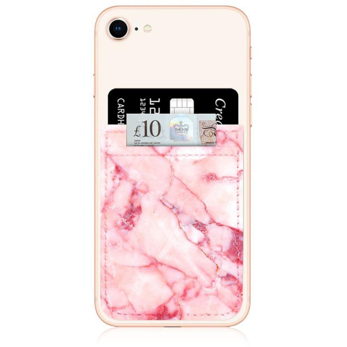 iDecoz Blush Marble Phone Pocket