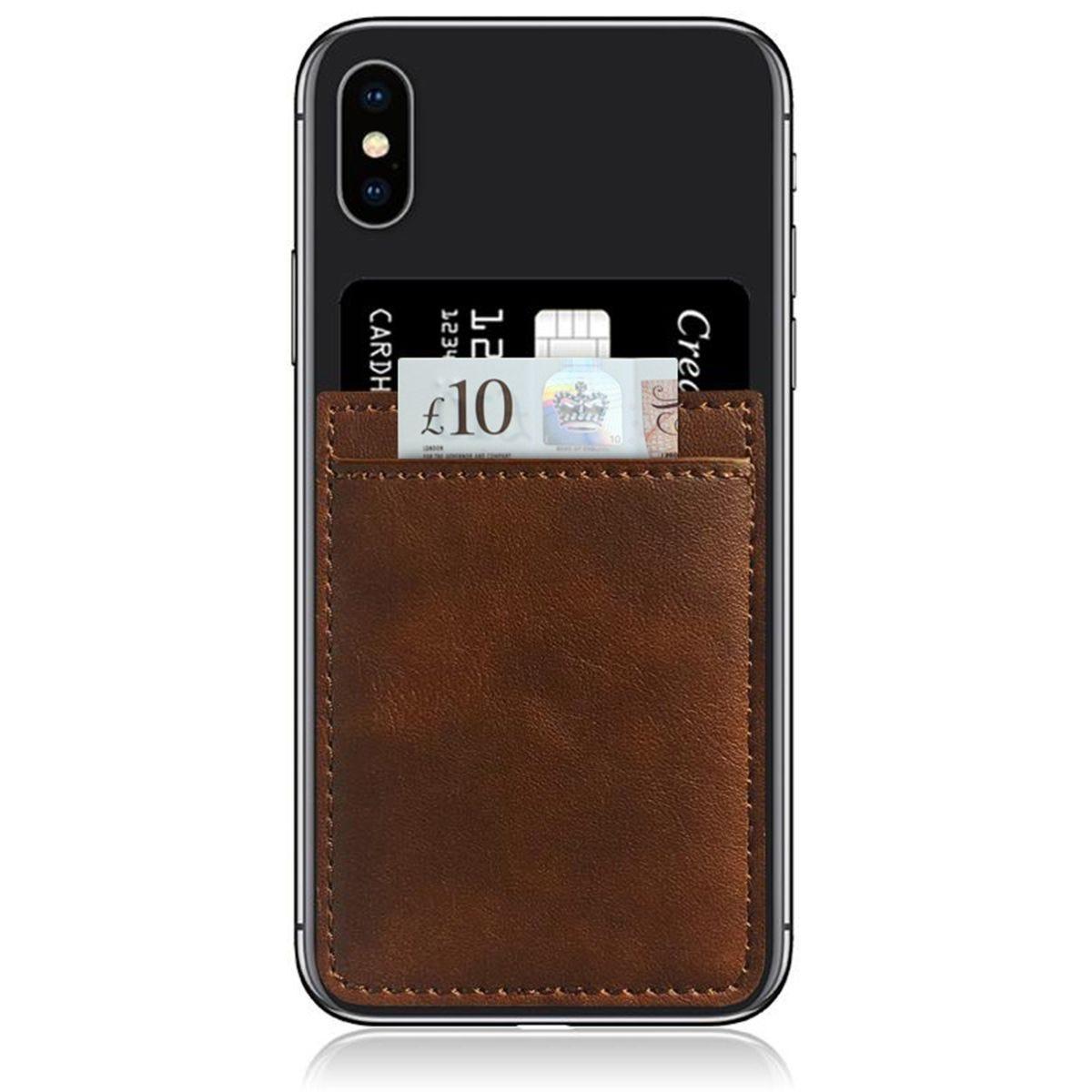iDecoz Brown Phone Pocket