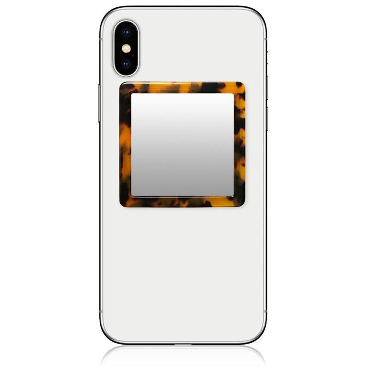 iDecoz Square Tortoise Phone Mirror