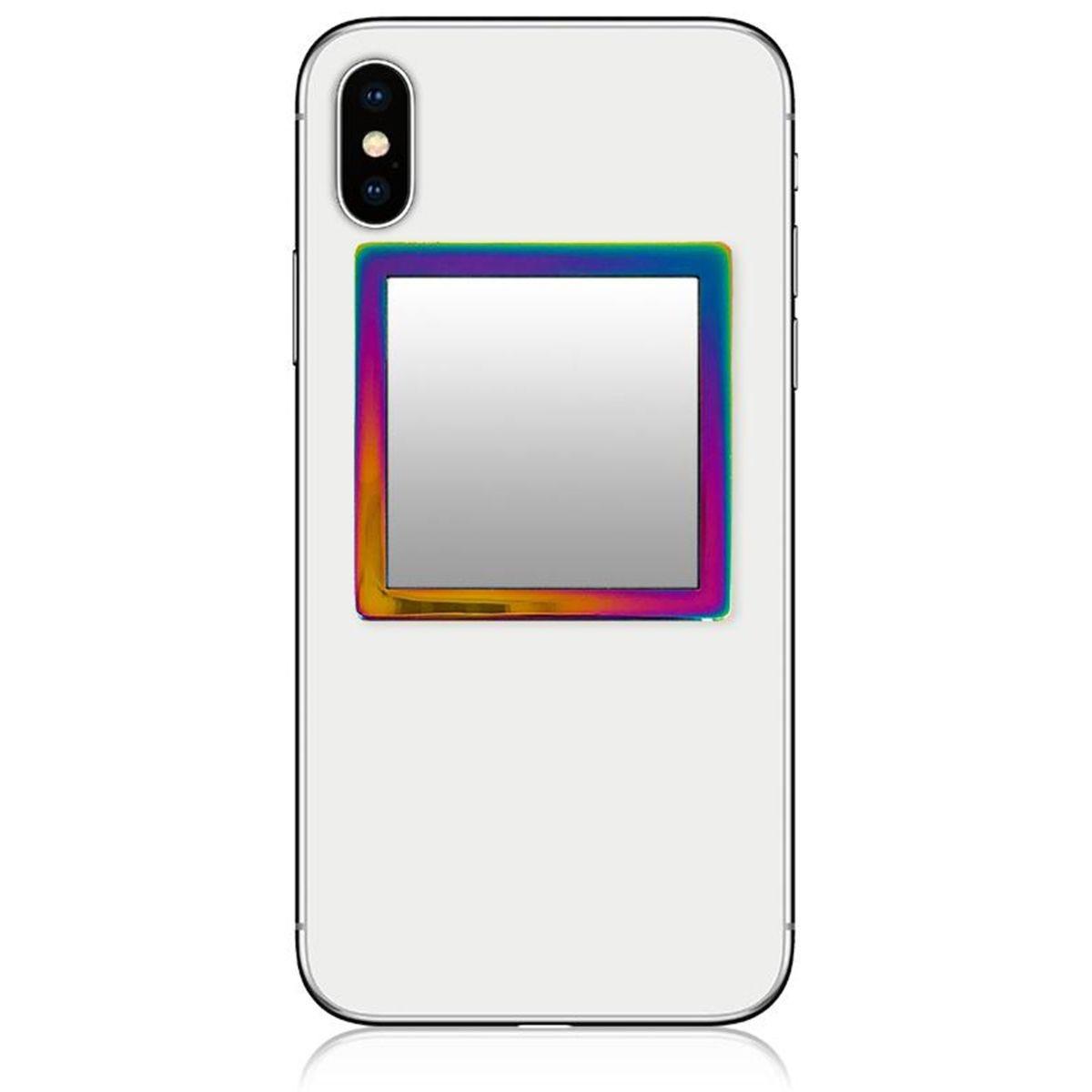 iDecoz Square Iridescent Phone Mirror