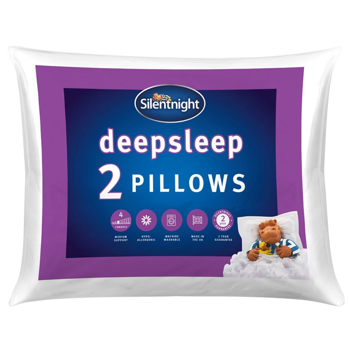 Silentnight Warm & Cosy Pillow Pair - White