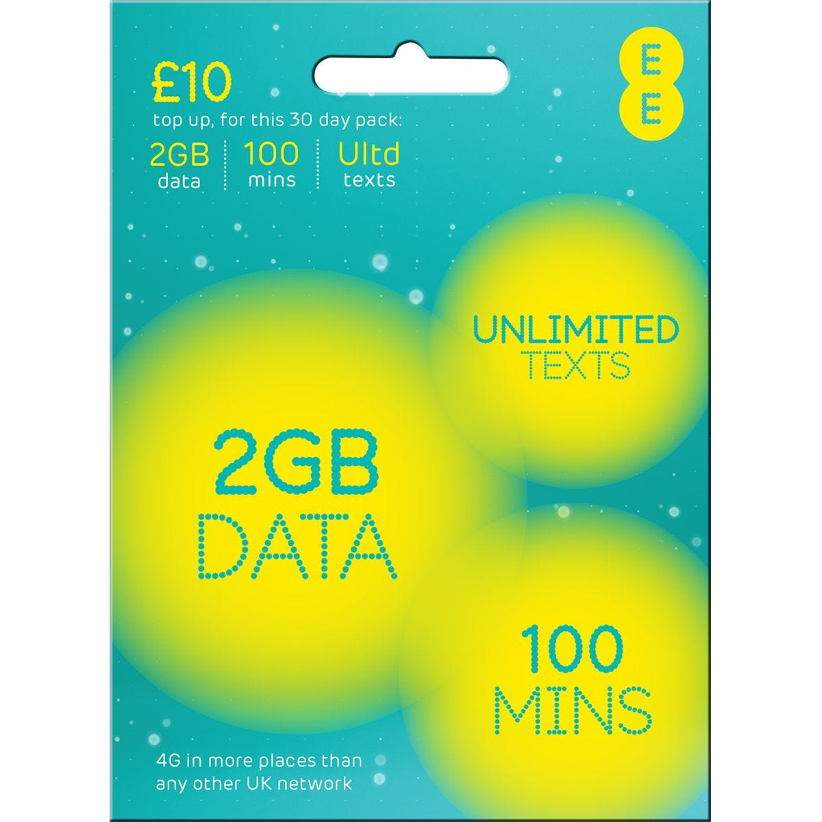 EE Payg 4G £10 Data Multi Sim
