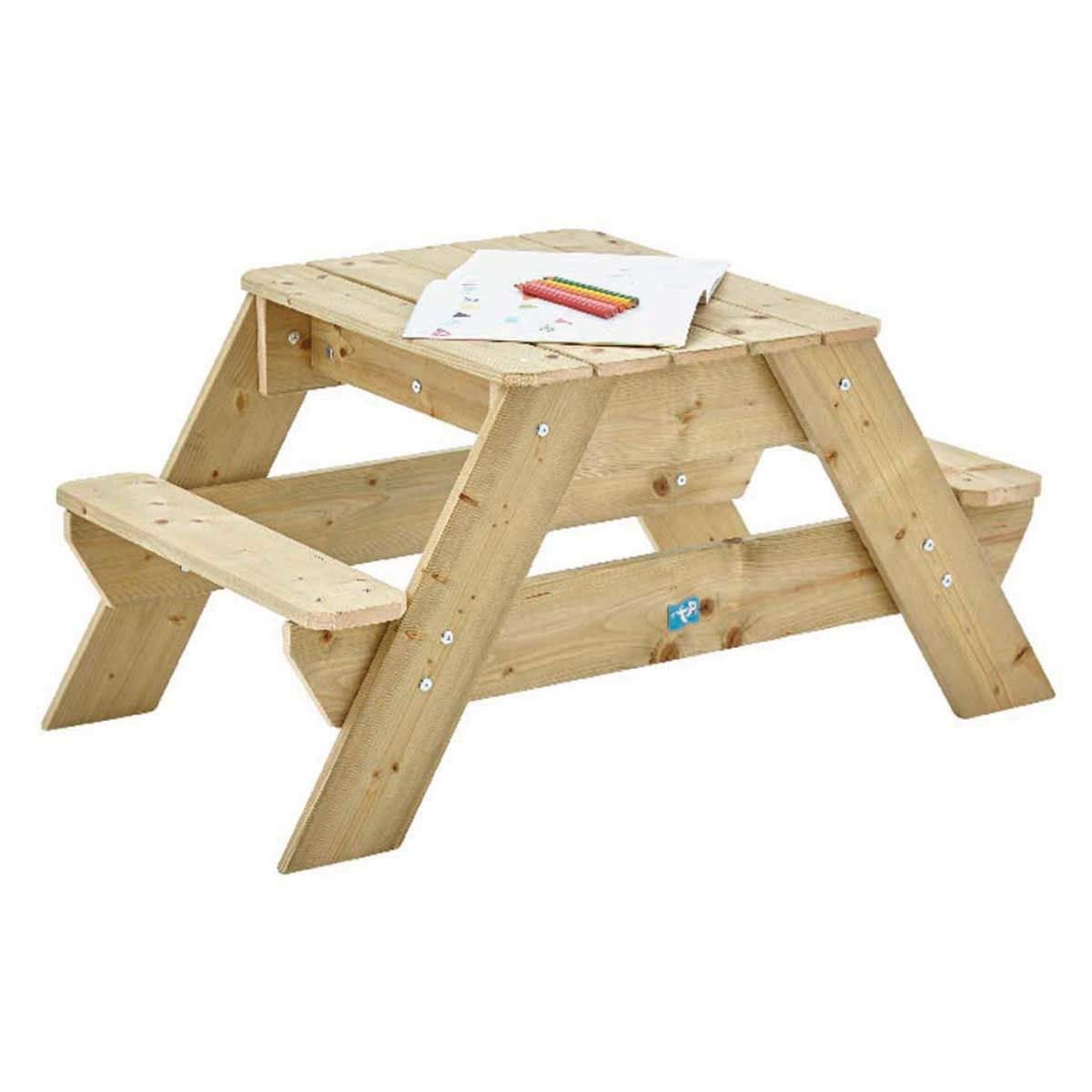 TP Toys Wooden Picnic Table and Sandpit
