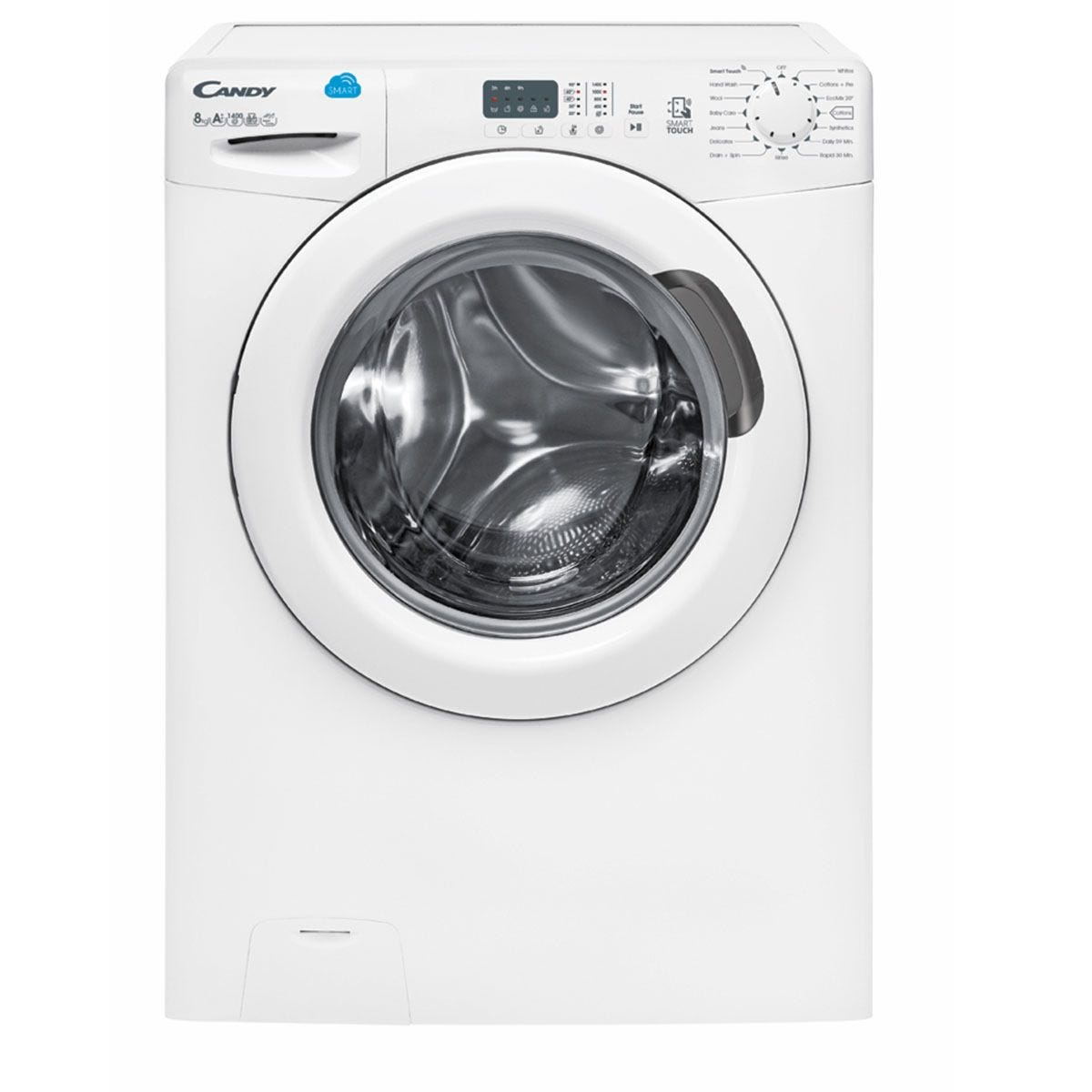 Candy CS148D3 1400rpm 8kg Washing Machine - White