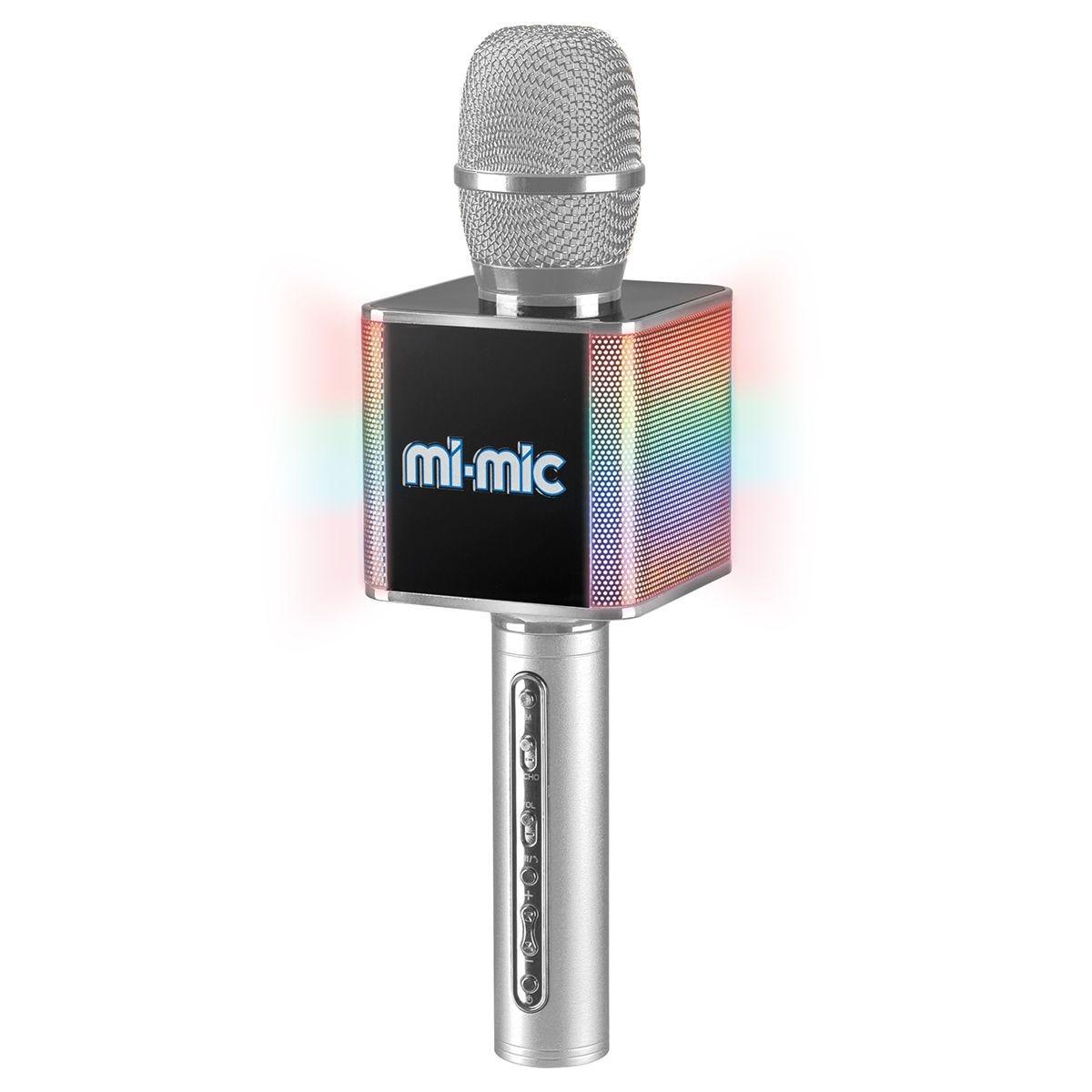 Mi-Mic Karaoke Wireless Microphone & Bluetooth Speaker - Silver