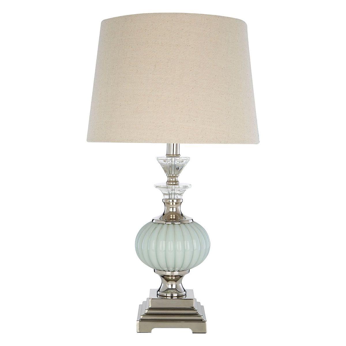 Premier Housewares Ulyana Table Lamp with Natural Shade