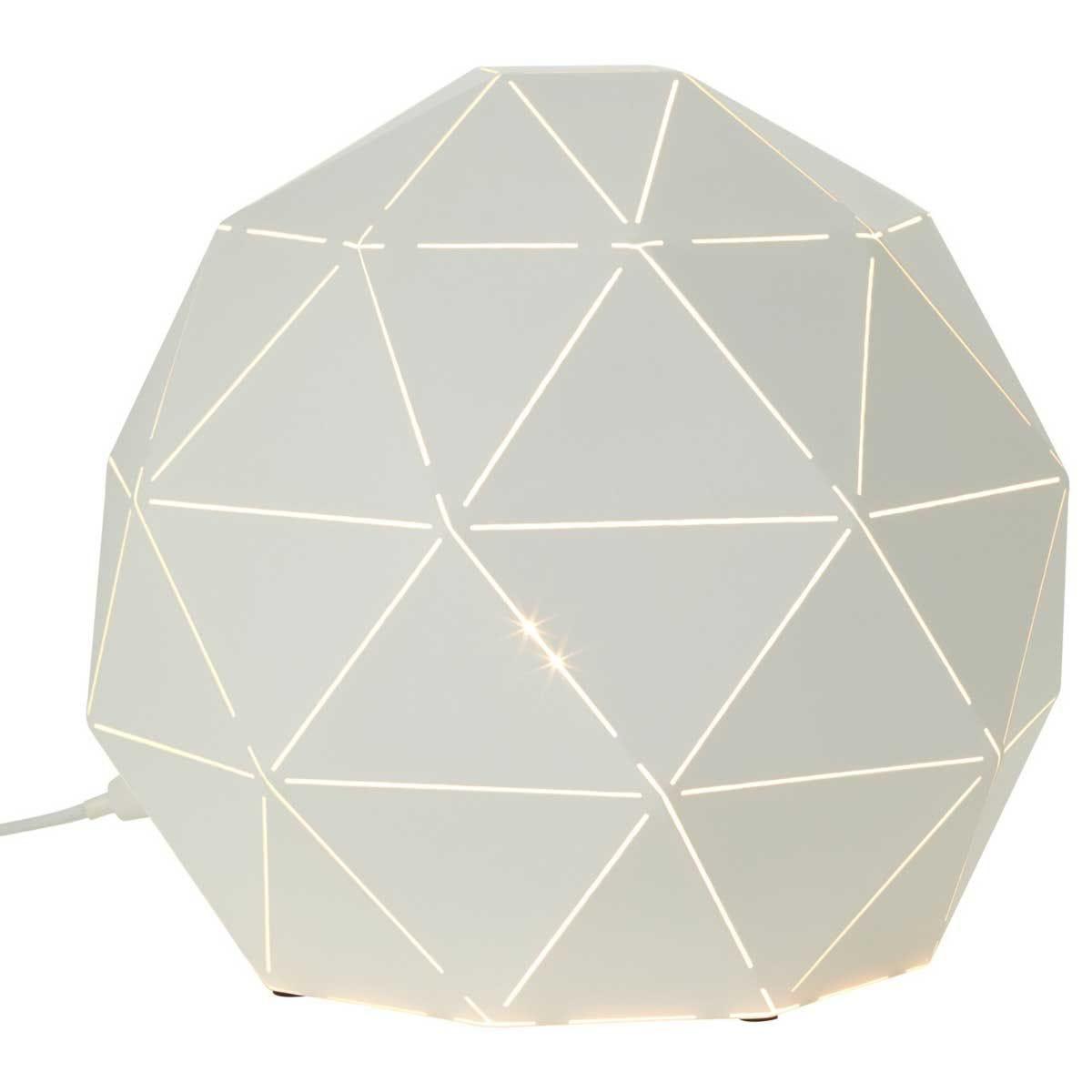 Premier Housewares Mateo Table Lamp - White