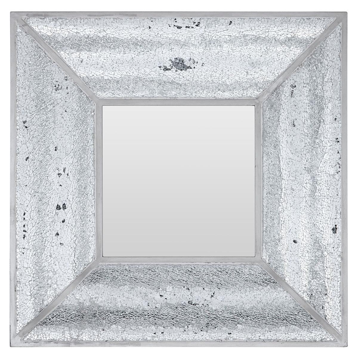 Premier Housewares Wonder Mosaic Wall Mirror - Silver