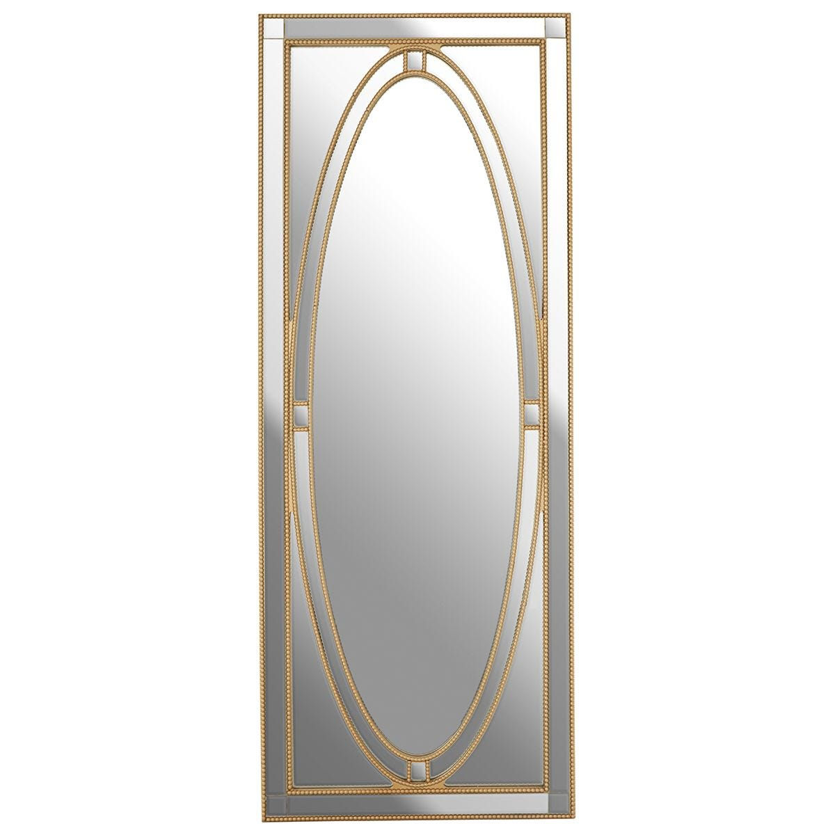 Premier Housewares Gavra Wall Mirror - Gold Finish
