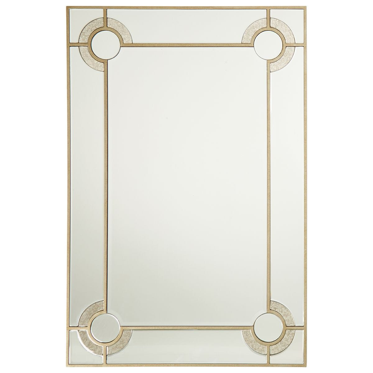 Premier Housewares Knightsbridge Wall Mirror - Champagne Finish