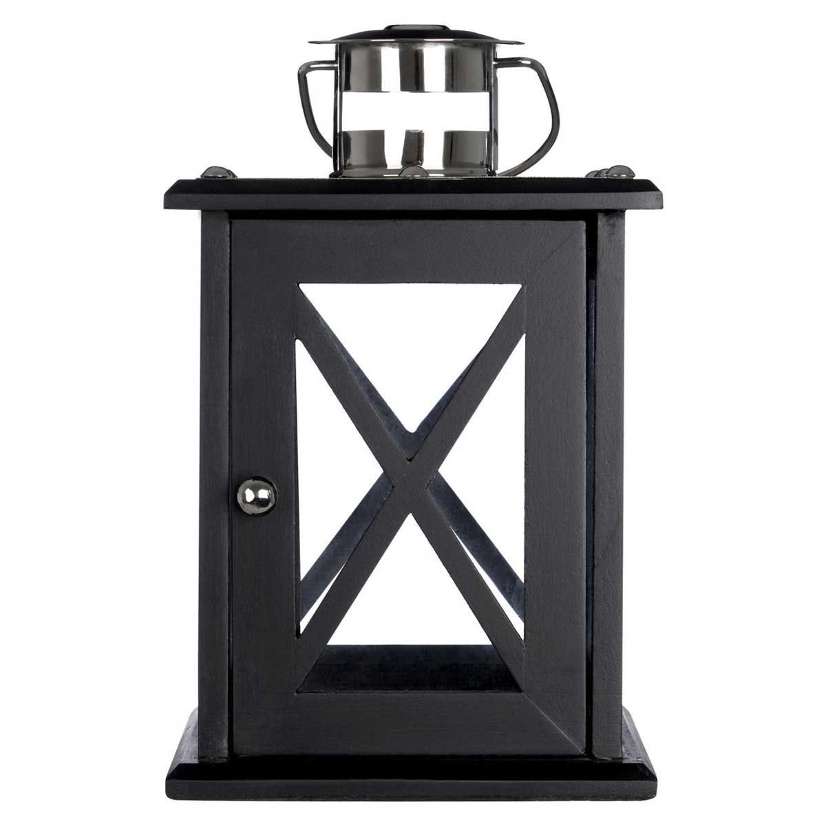 Premier Housewares Hampstead Black Lantern - Small