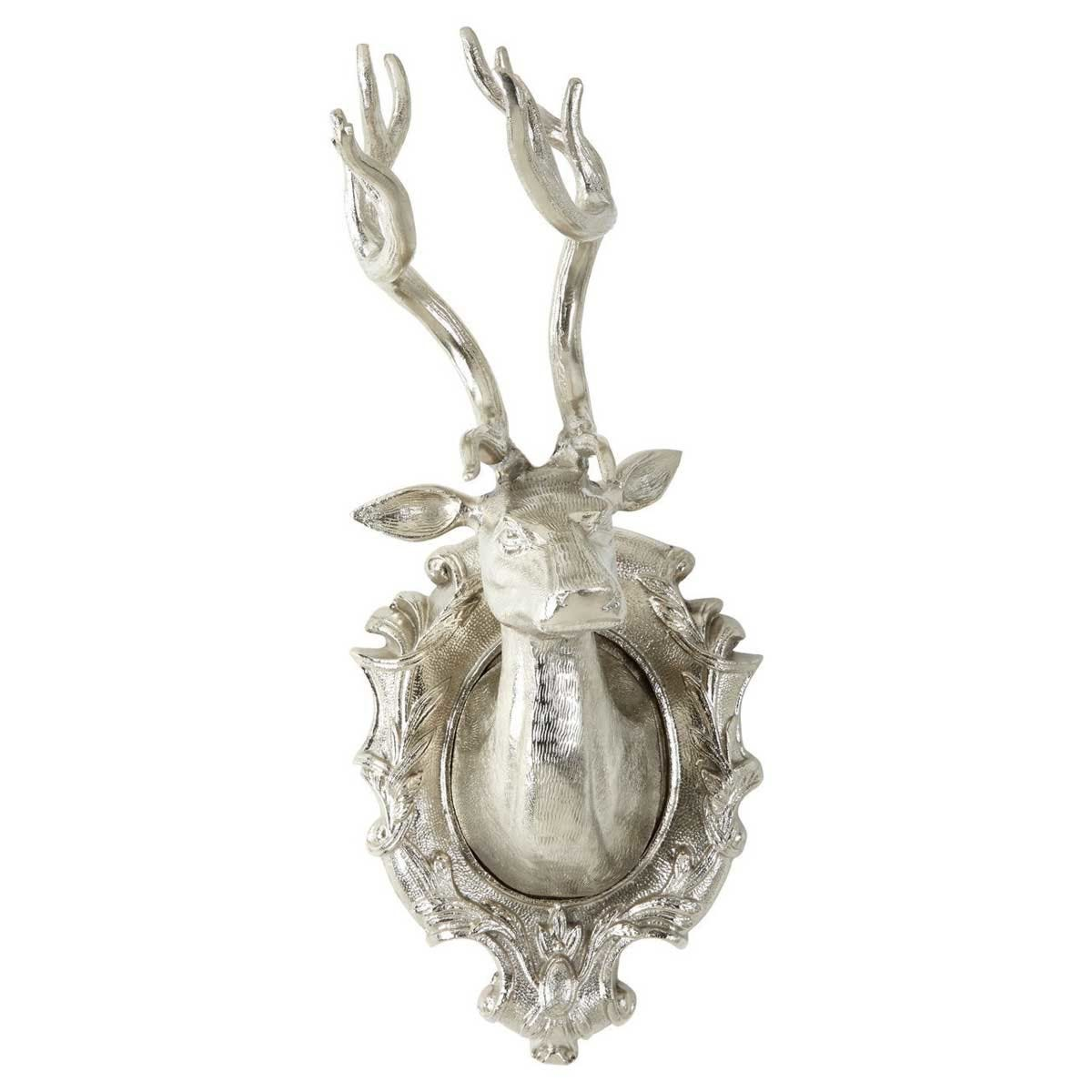 Ds wall mounted stag nickel small