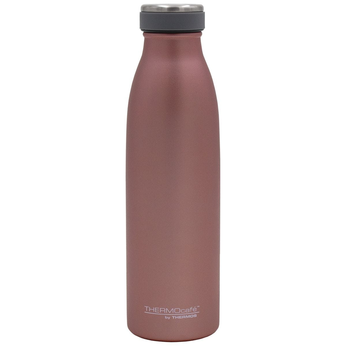 Thermocafe Stainless Steel Insulated 500ml Water Bottle - Rose Gold
