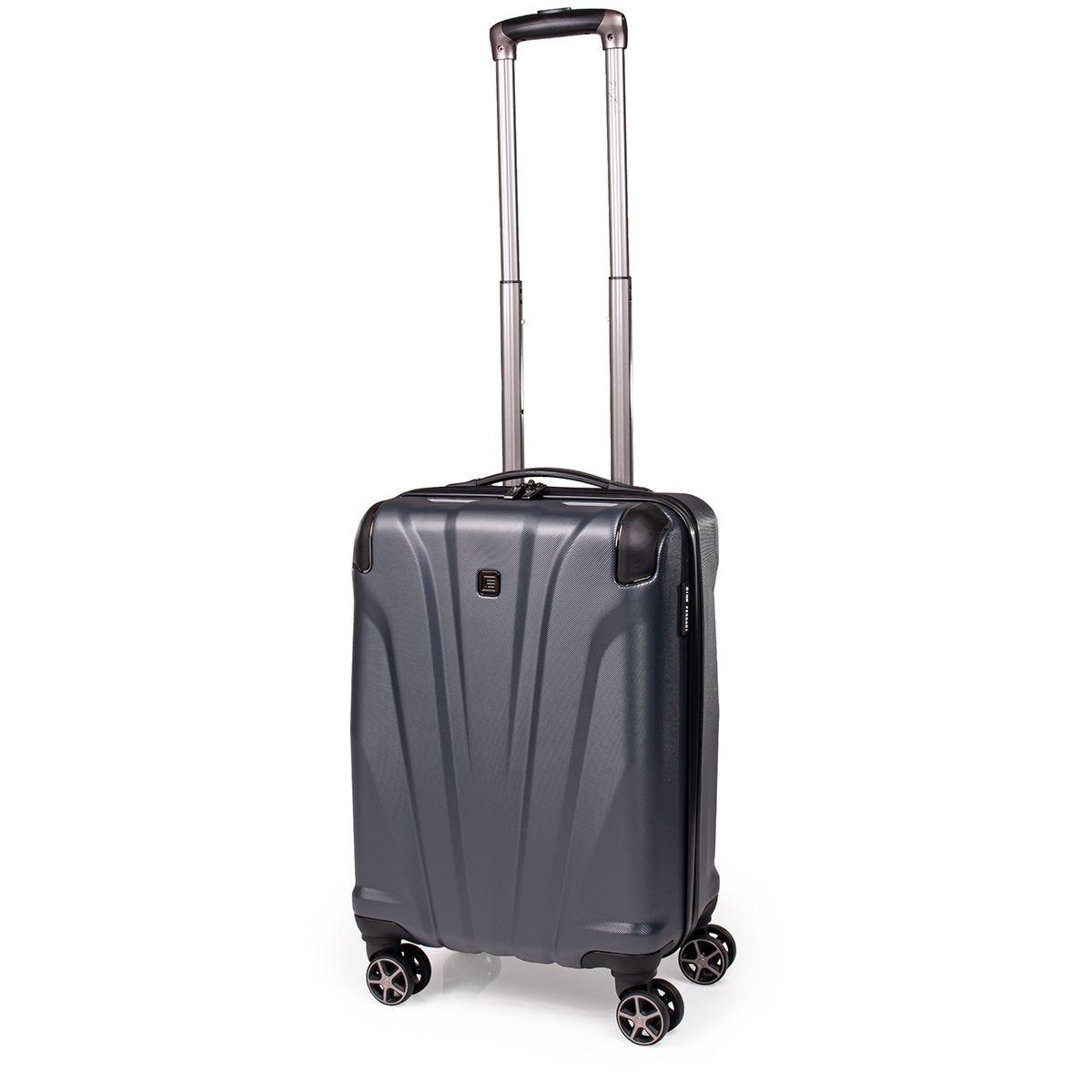 Gino Ferrari Quasar ABS Small Suitcase - Dark Grey
