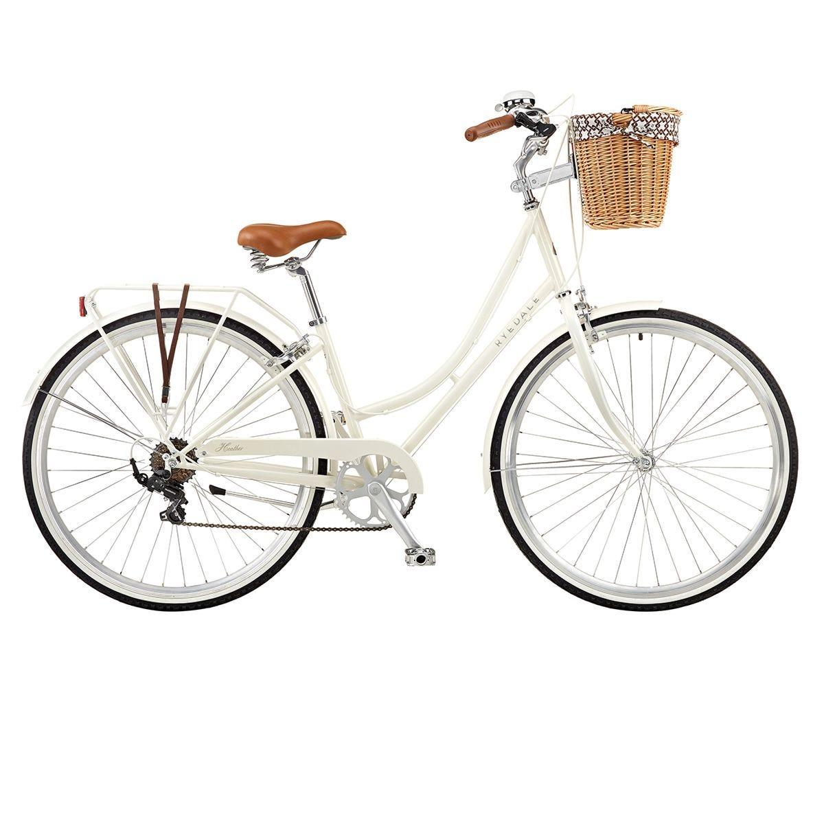 Ryedale Heather 700C 16 Inch 7 Speed Ladies Heritage Bike - Sherbet