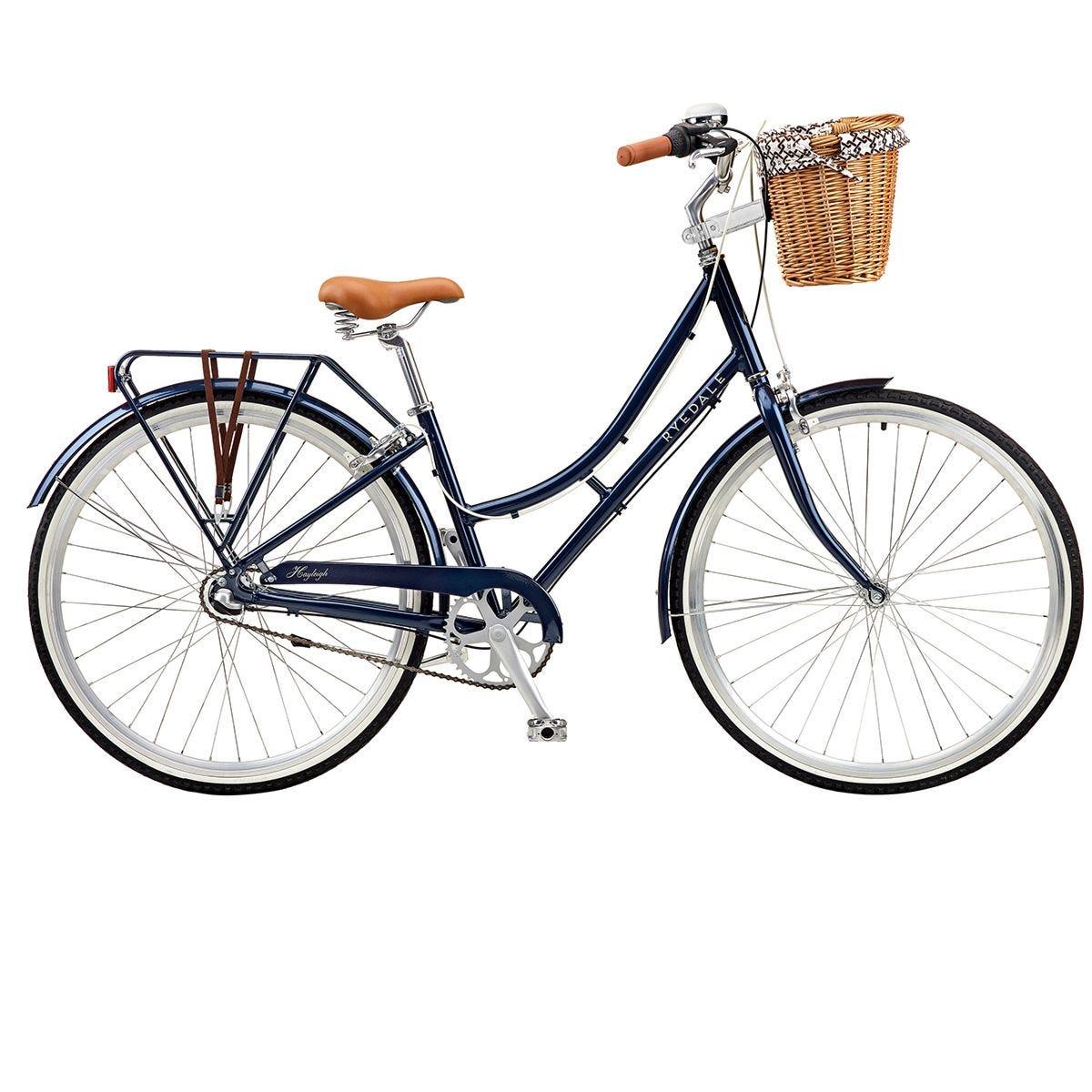 Ryedale Hayleigh 700c 3 Speed Ladies Heritage Bike - Navy