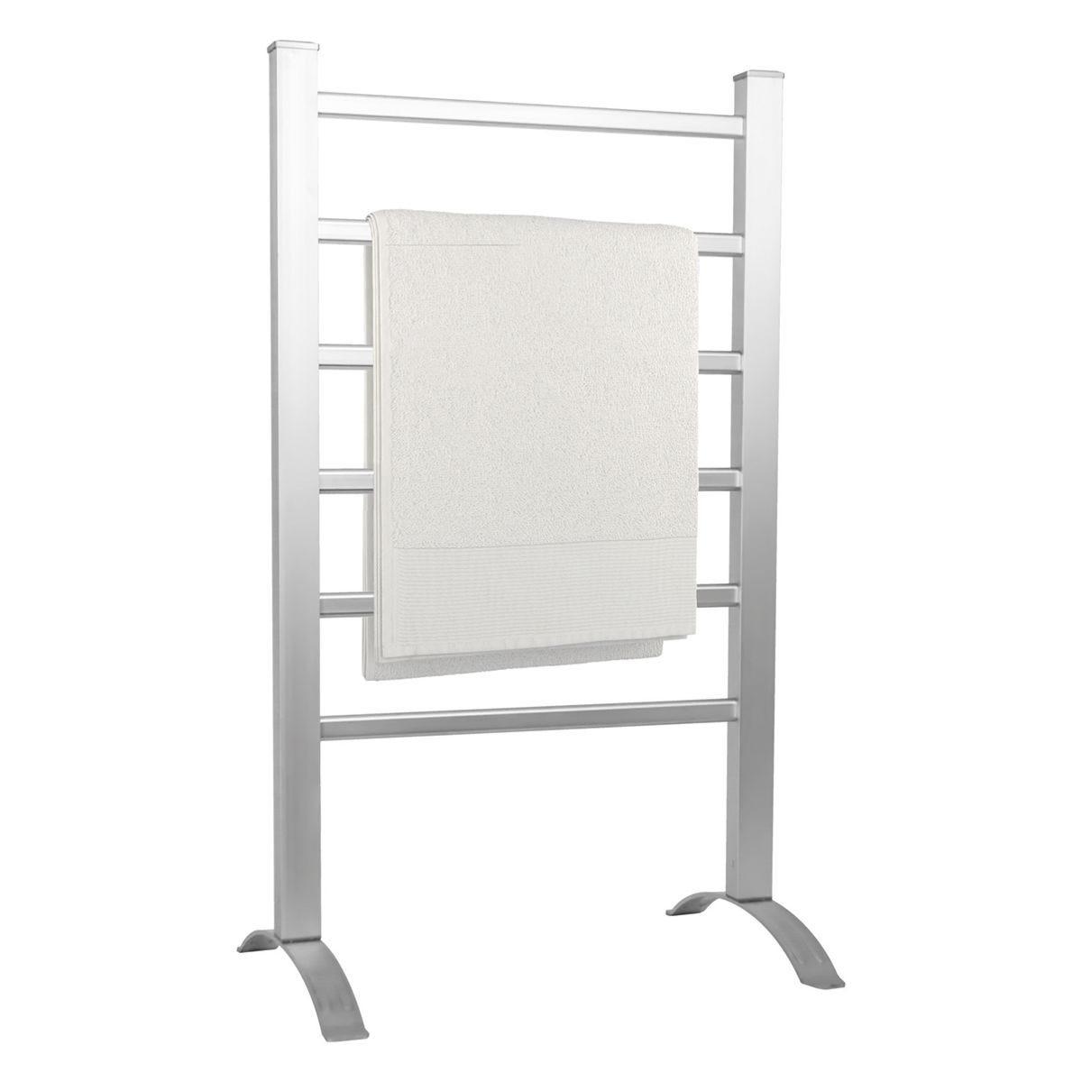 Status 100W Heated Towel Rail - Aluminium
