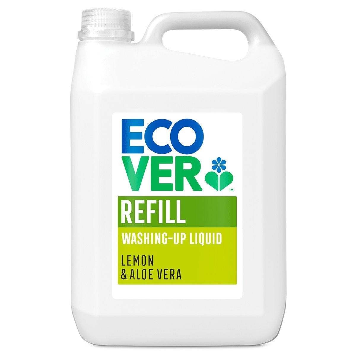 Ecover Washing Up Liquid 5L Refill - Lemon and Aloe
