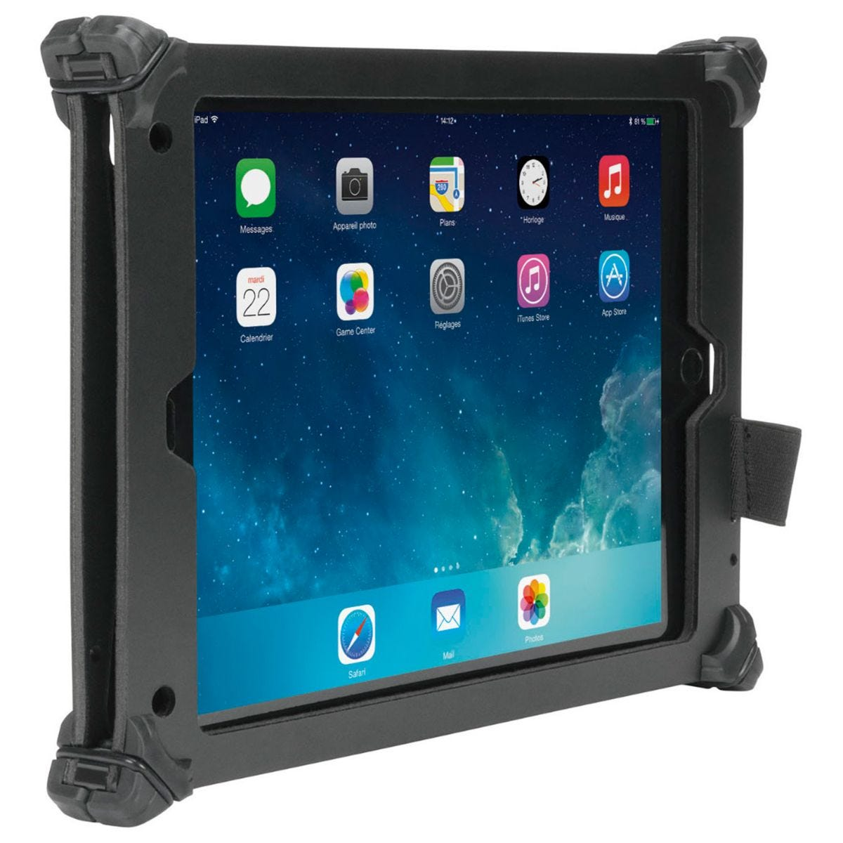 Mobilis RESIST Case for iPad 2018/2017/Air 2/Air - Black