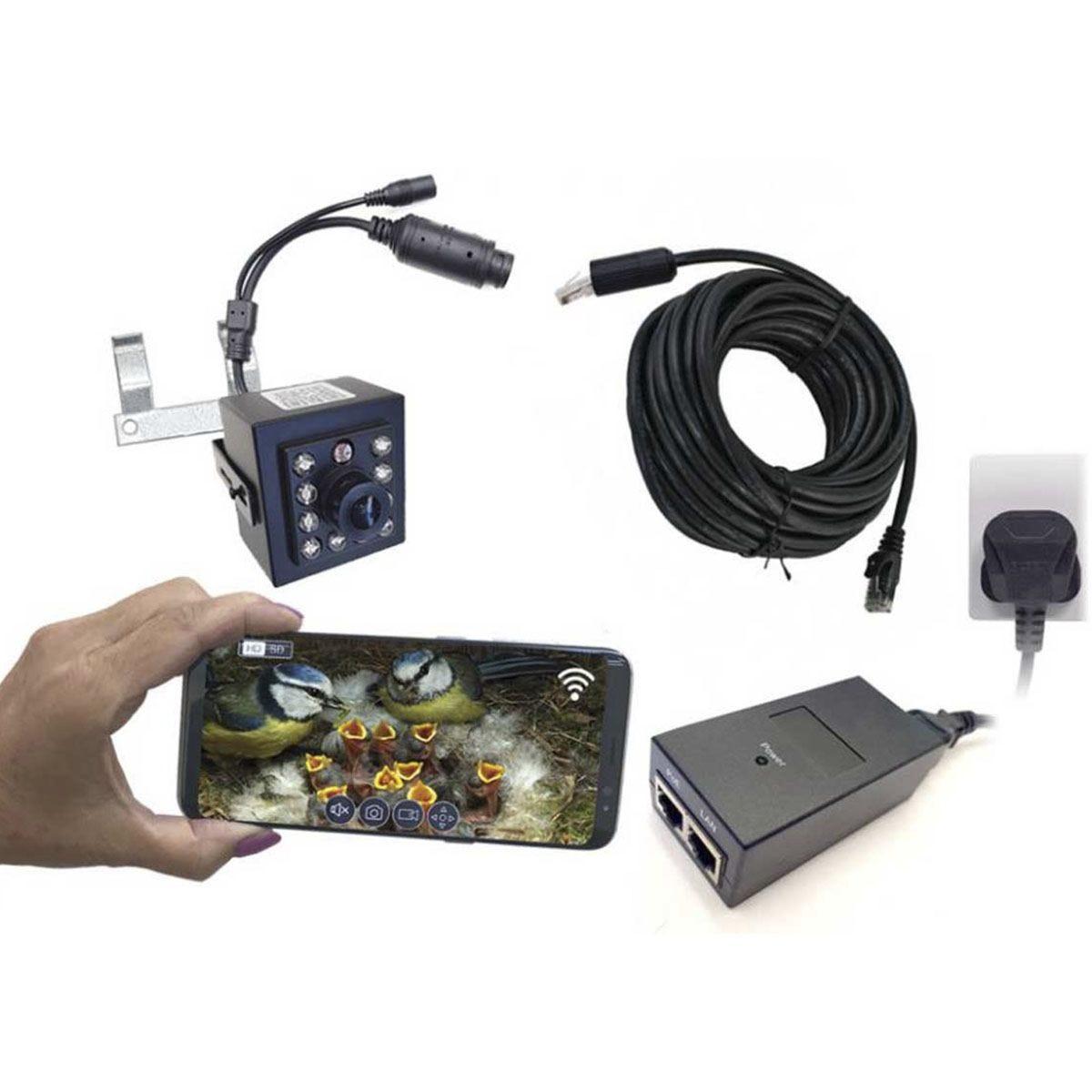 Gardenature Nest Box IP Camera Kit