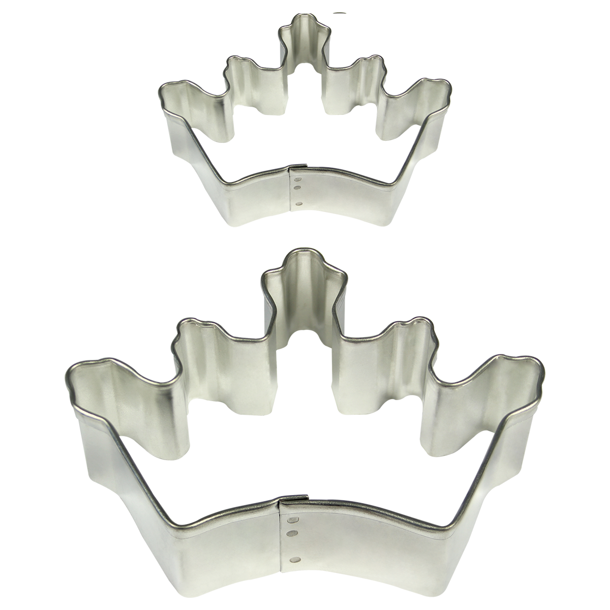 PME Cookie & Cake Crown Cutter Set of 2