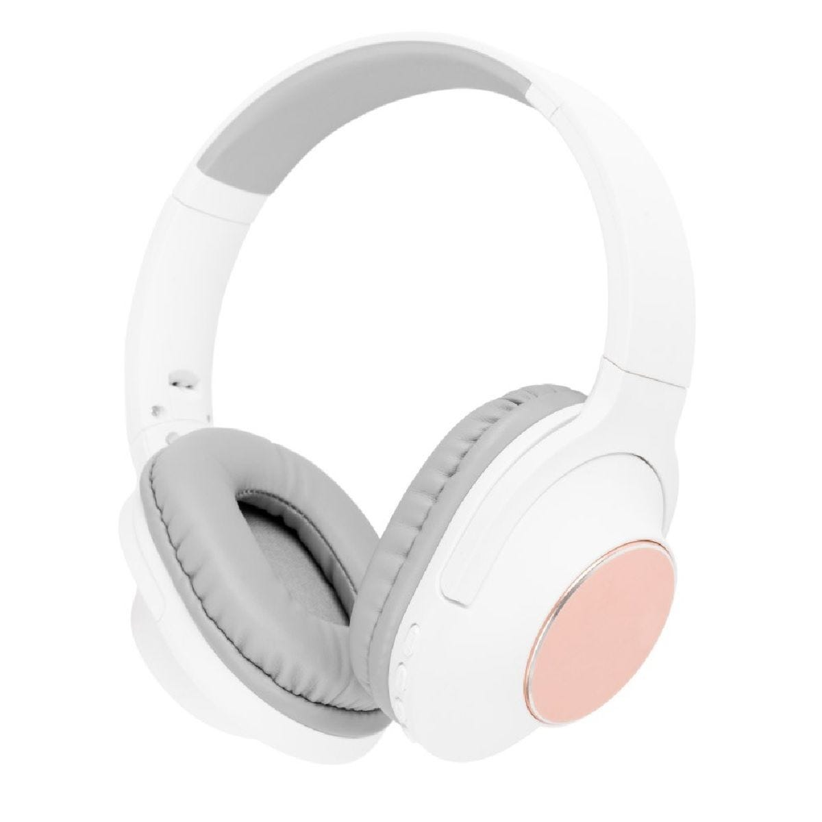 AKAI DYNMX On-Ear Bluetooth Headphones - Blush Gold
