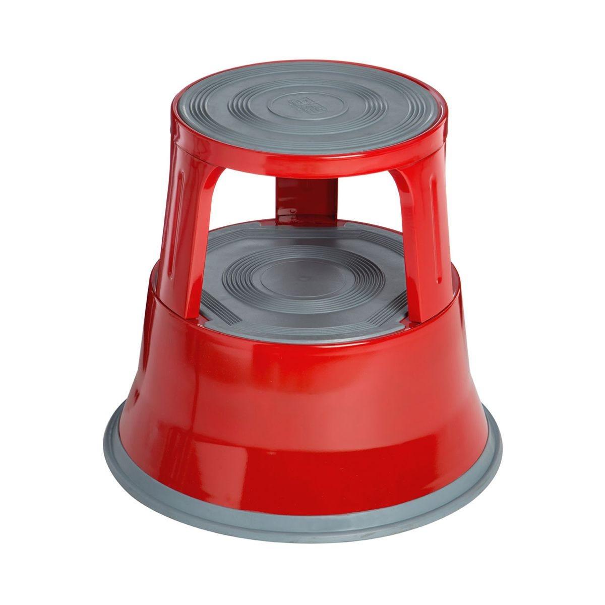 Premier Housewares 2 Tier Red Step Stool