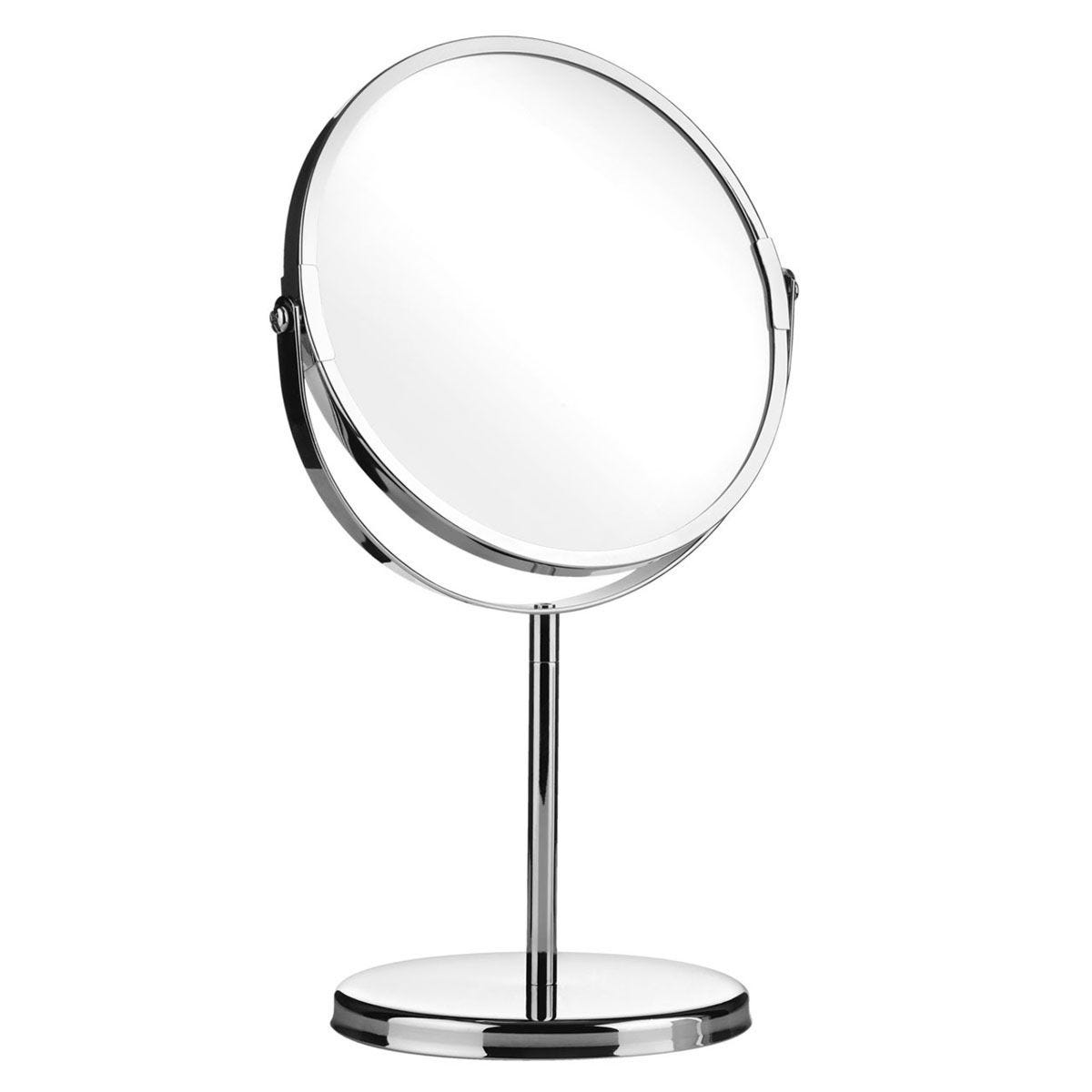 Premier Housewares Swivel Mirror with Magnifying Option