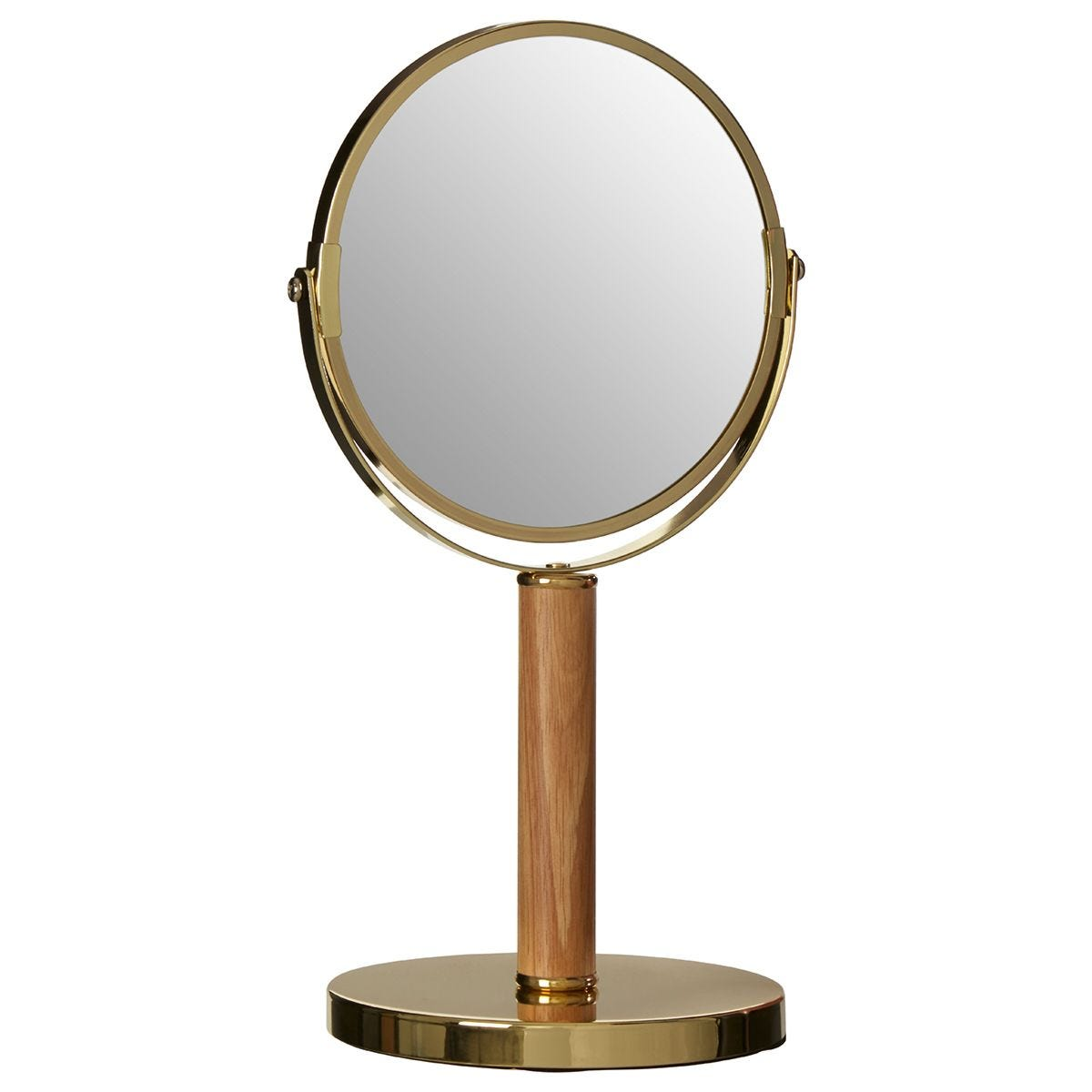 Premier Housewares Gold Cassini Standing Mirror