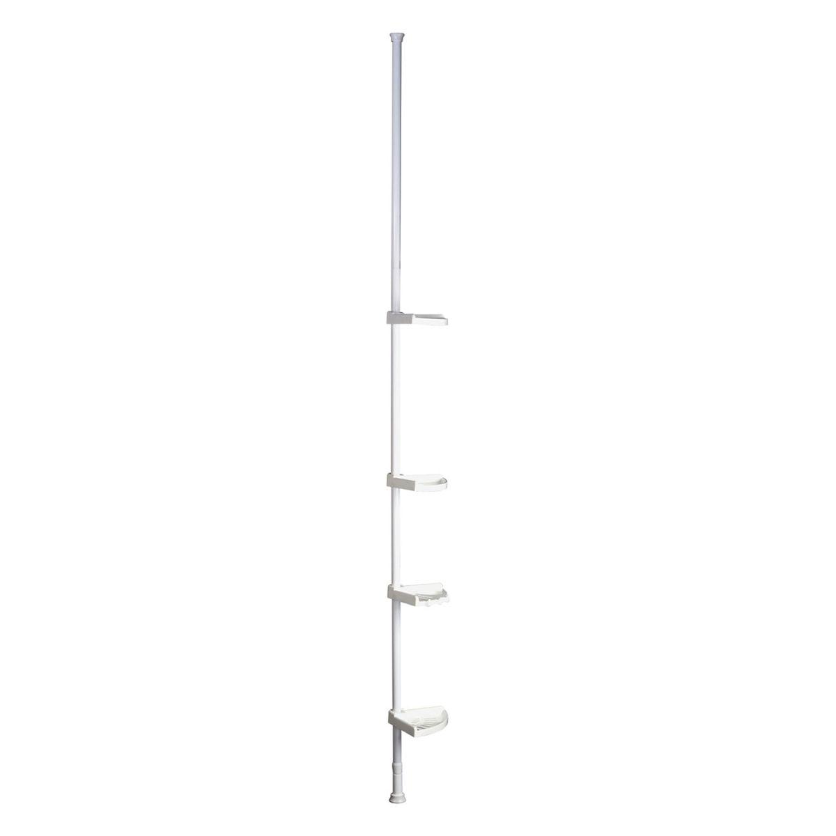 Premier Housewares 4 Tier Telescopic Corner Shelf Unit