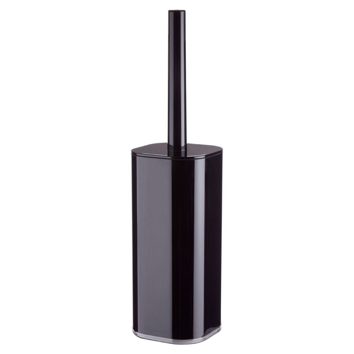 Premier Housewares Ando Black Toilet Brush And Holder