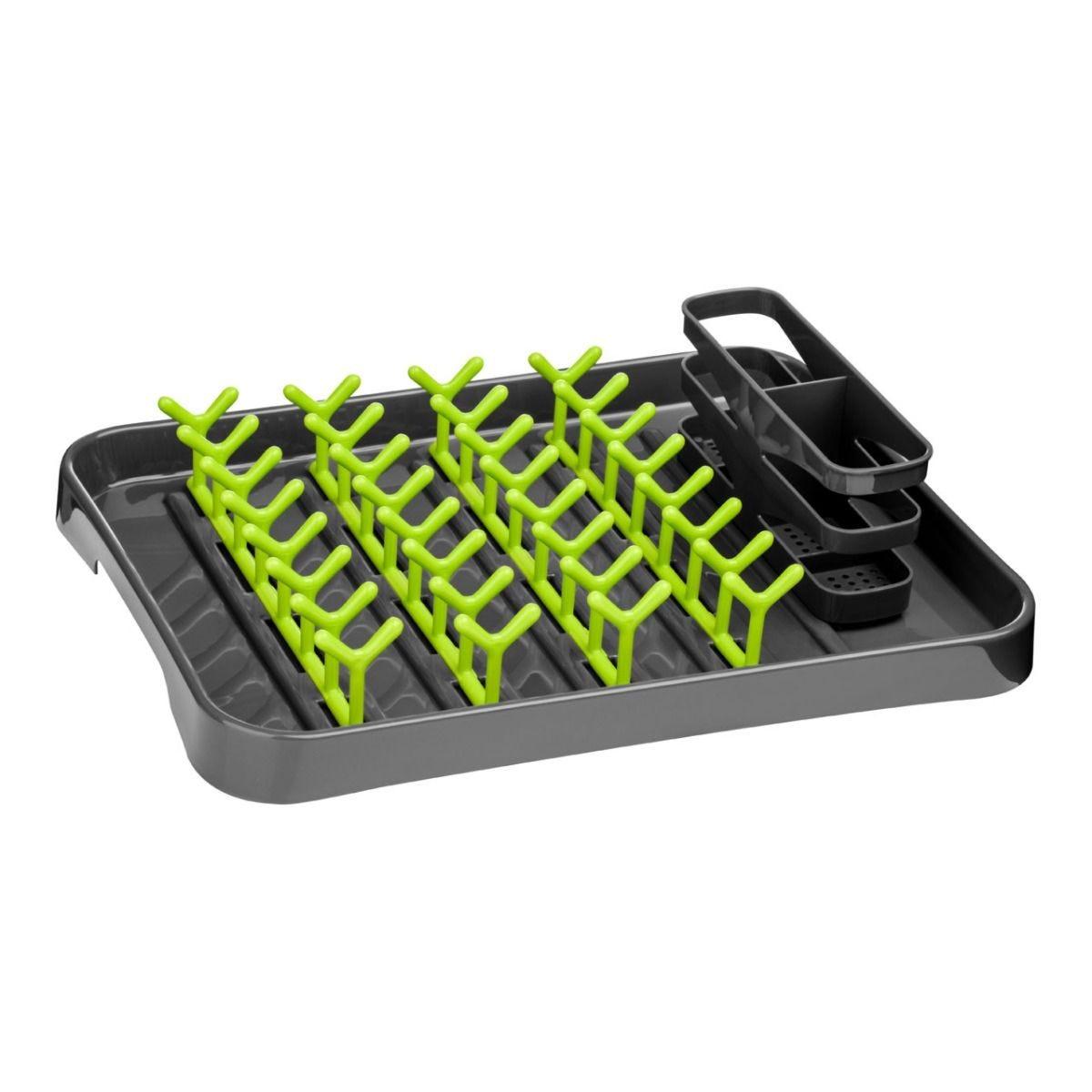 Premier Housewares Dish Drainer - Lime Green