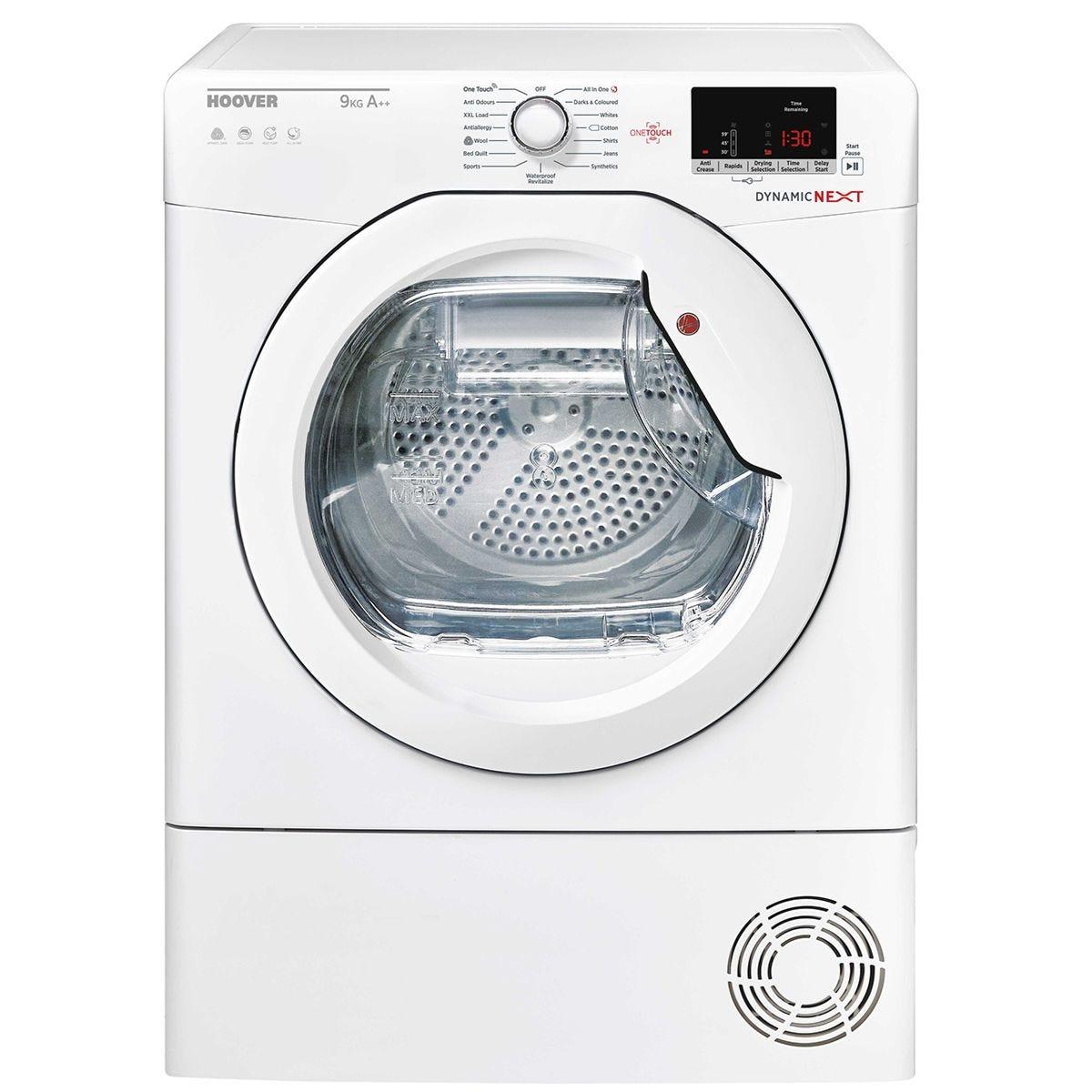 Hoover DXH9A2DE 9kg Dynamic Next Condenser Tumble Dryer - White