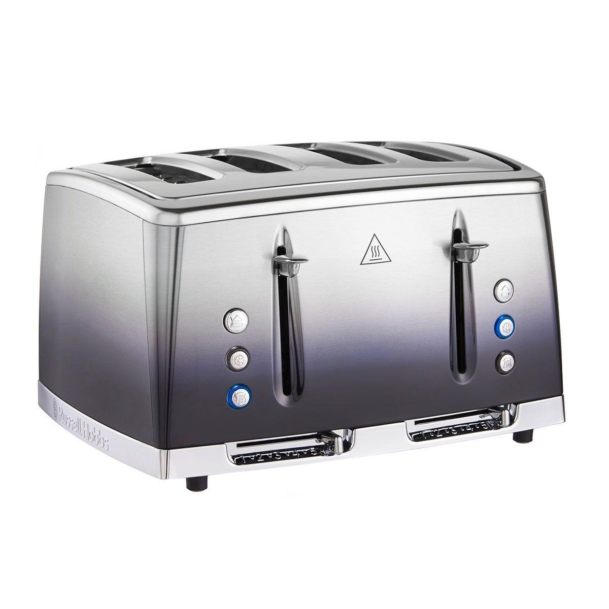 Russell Hobbs 25141 Eclipse 4–Slice Toaster – Midnight Blue