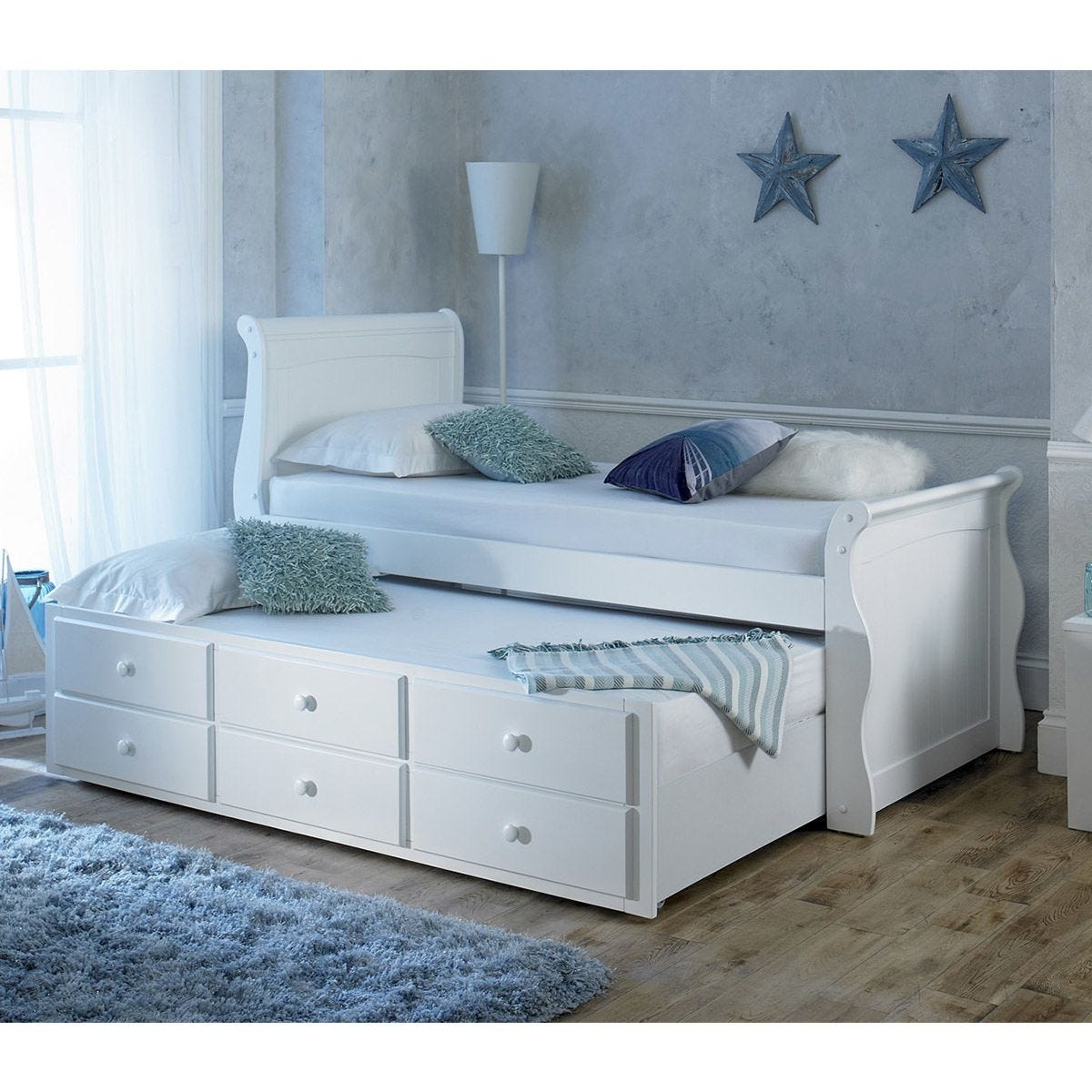 The Artisan Bed Company Captain Bed - White