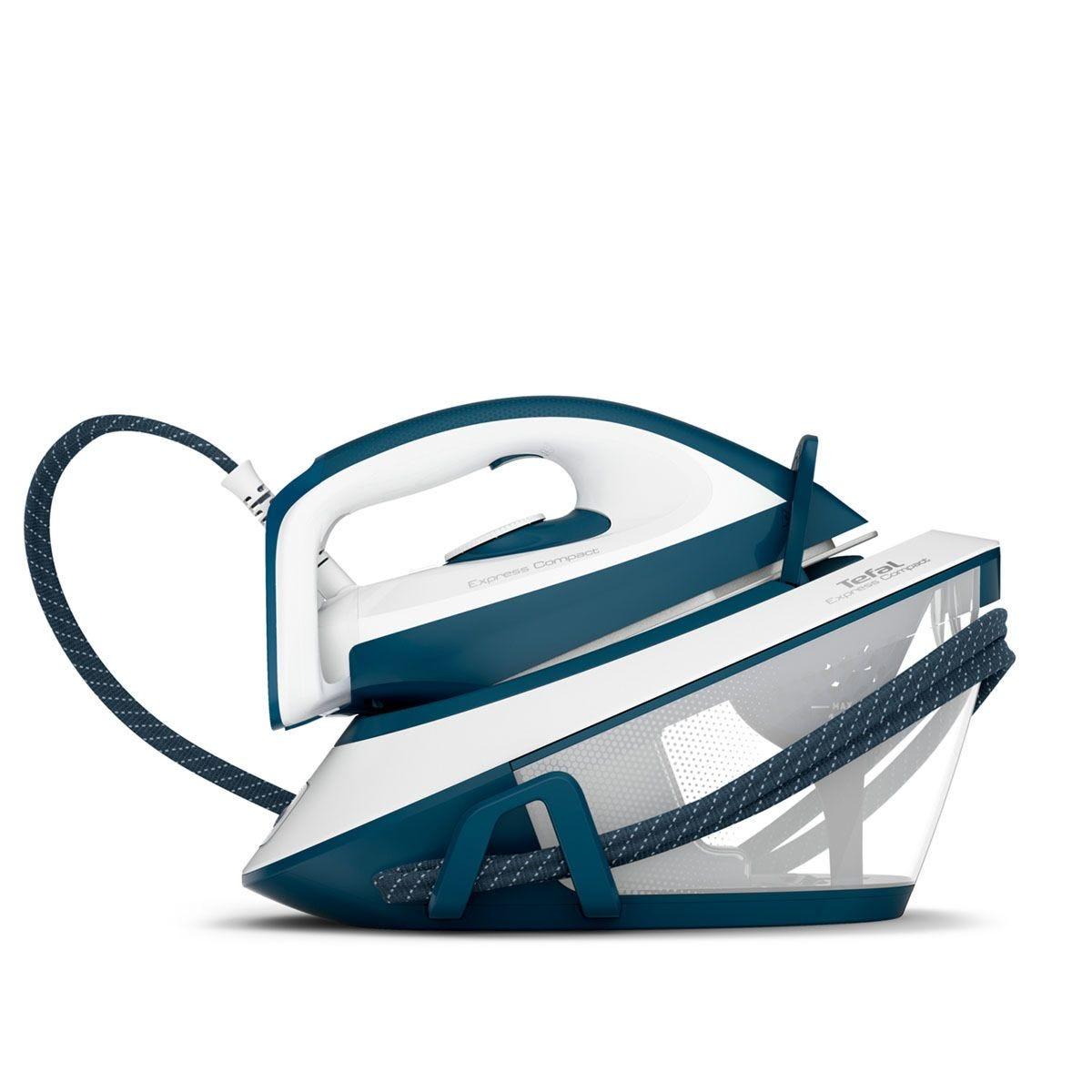 Tefal SV7110 Express Compact Steam Generator Iron – Blue