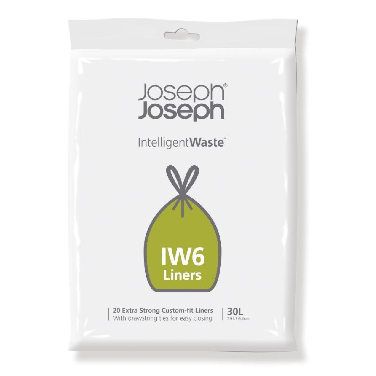 Joseph Joseph IW6 30L Custom-fit liners - 20 pack
