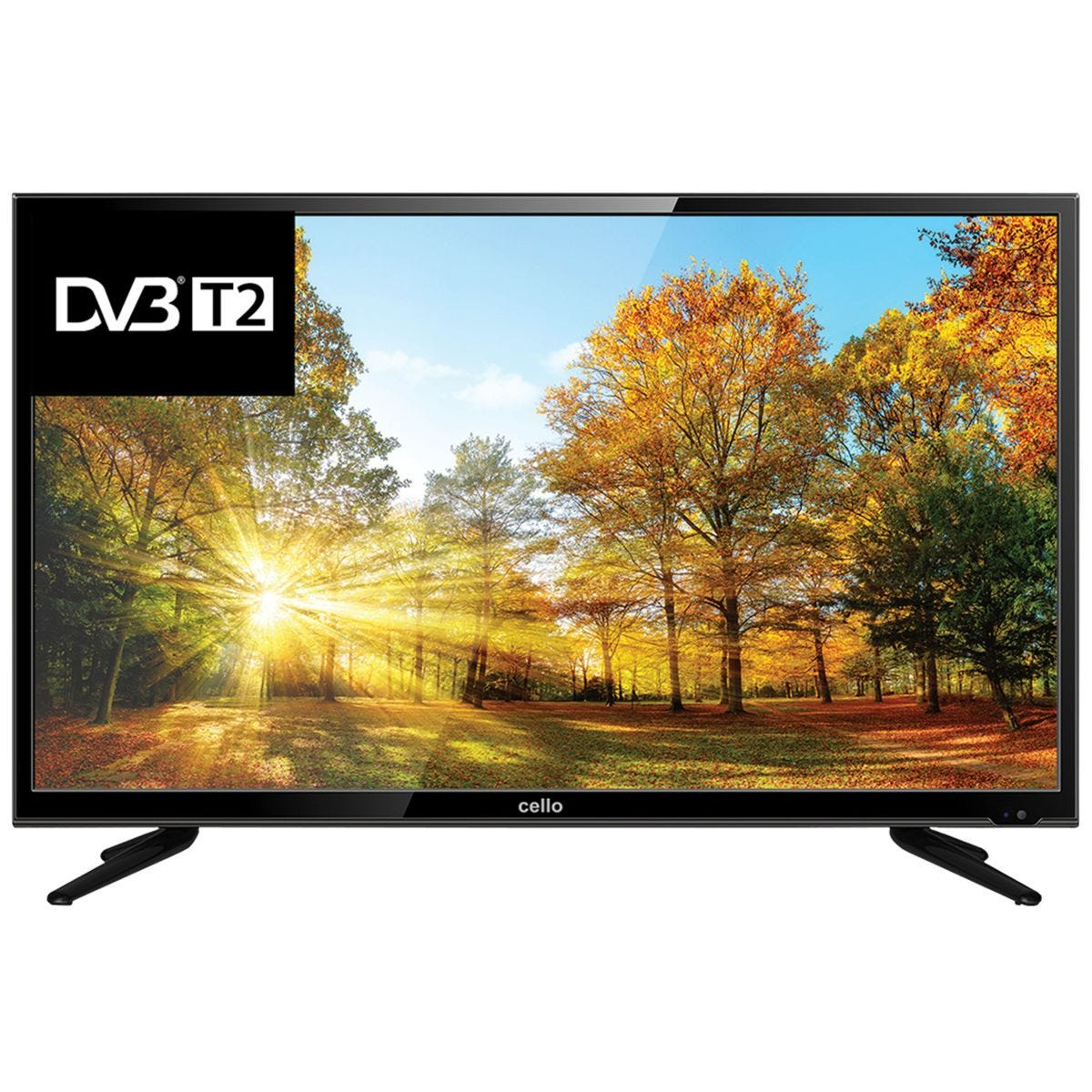 Cello 32 Inch LED Digital TV with Freeview T2 HD Channels - Black
