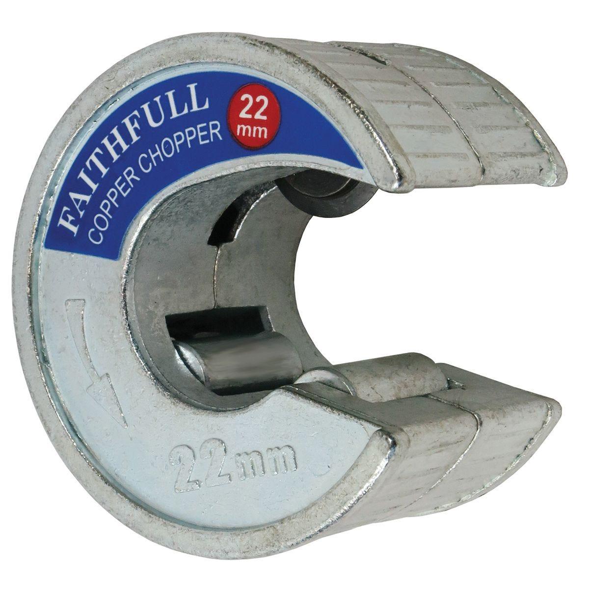 Faithfull Pipe Slicer Copper Choppers 22mm