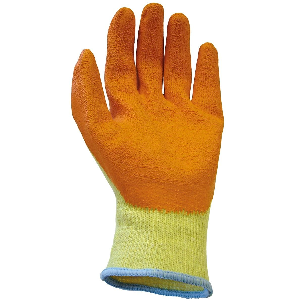 Scan Knit Shell Latex Palm Gloves Size 9 Large (Pack of 12)