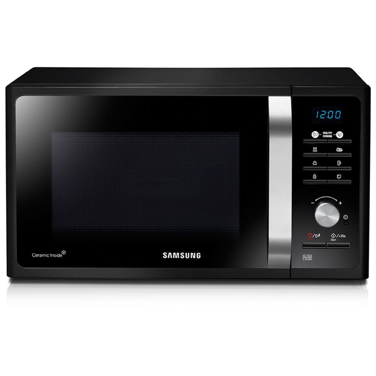 Samsung 23L 800W Solo Manual Microwave Oven - Black