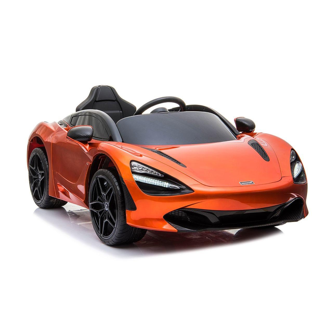 Ricco McLaren 720S Licensed Electric Ride on Toy Car - Orange