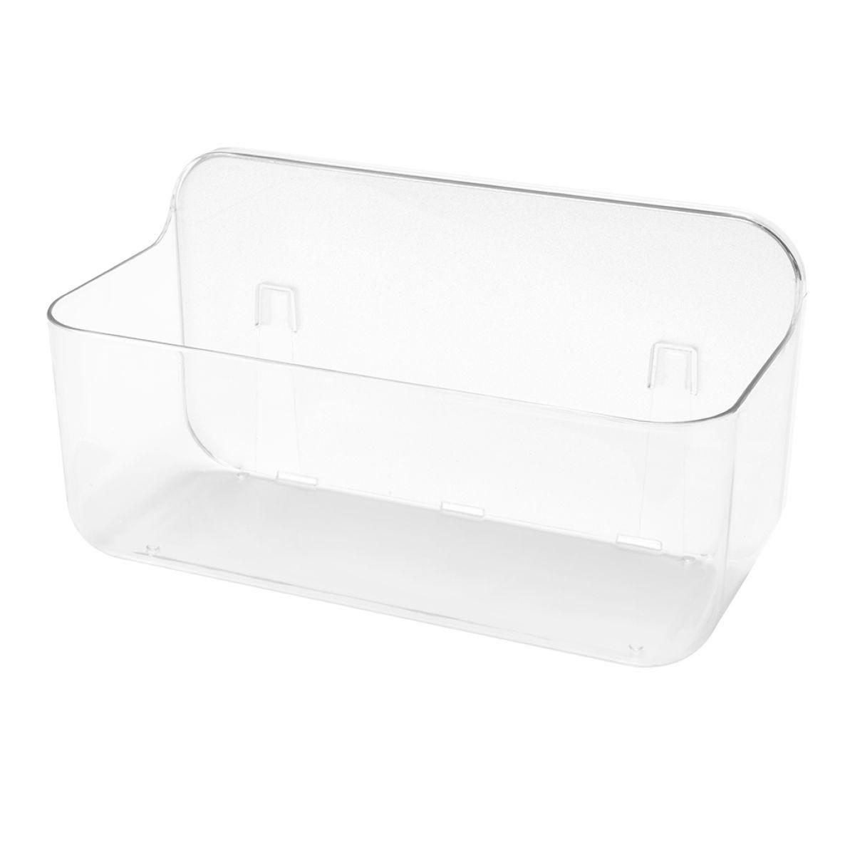 Addis Invisifix Large Bathroom Caddy - Clear